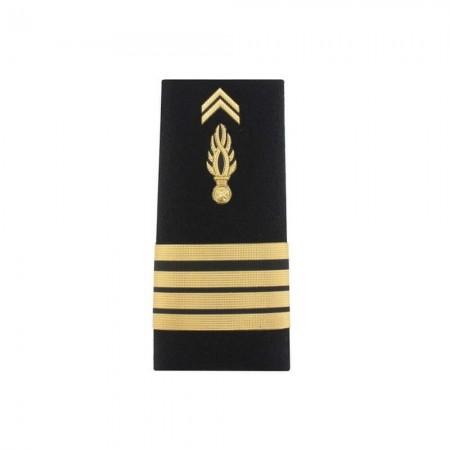 Fourreaux Rigides Homme Gendarmerie Mobile - Chef d'Escadron