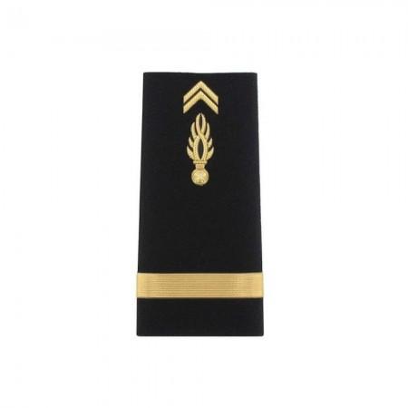 Fourreaux Rigides Homme Gendarmerie Mobile - Sous-Lieutenant