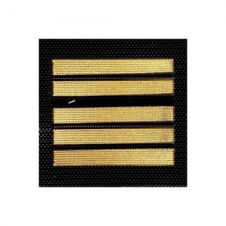 Galon de Poitrine Plastique Velcro Gendarmerie Mobile ou GR - Colonel