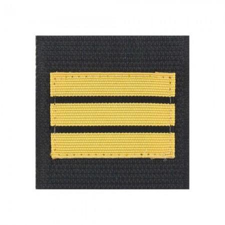 Galon de Poitrine Souple Velcro Gendarmerie Mobile ou GR - Capitaine