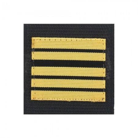 Galon de Poitrine Souple Velcro Gendarmerie Mobile ou GR - Colonel