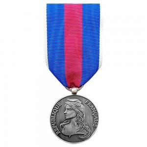 Médaille Ordonnance MRV-DSI (ex-SMV) - des Réservistes Volontaire de Défense et de Sécurité Intérieure - Argent