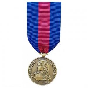 Médaille Ordonnance MRV-DSI (ex-SMV) - des Réservistes Volontaire de Défense et de Sécurité Intérieure - Bronze