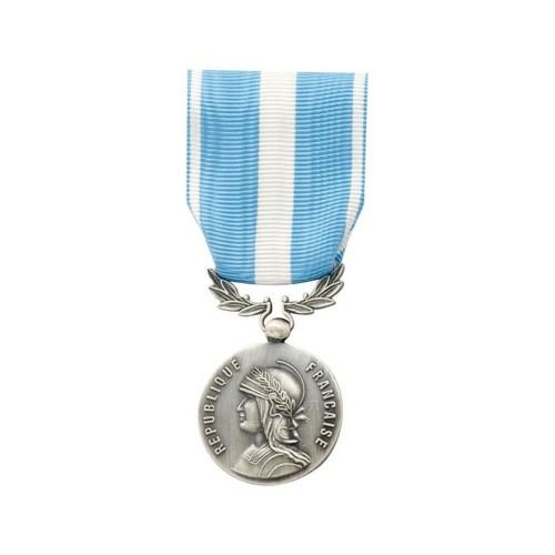 Médaille Ordonnance Outre-Mer (Bronze Argenté)