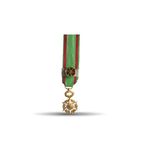 Médaille Réduction de l'Ordre du Mérite Agricole - Commandeur (Bronze)