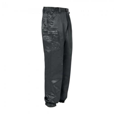 Pantalon d'Intervention Anti-Statique Noir Brillant - CityGuard