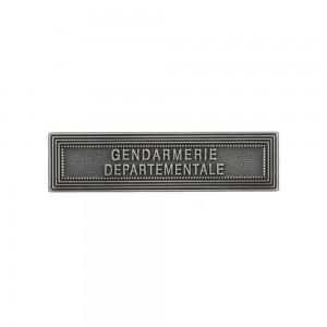 Agrafe Gendarmerie Départementale pour Médaille Pendante