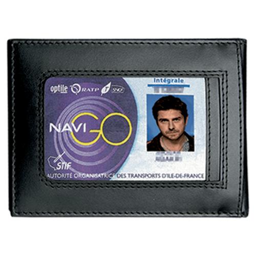 Porte-Cartes Forces de l'Ordre - 2 Volets Vertical - GK Pro