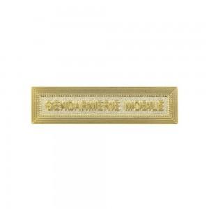 Agrafe Gendarmerie Mobile Or pour Médaille Pendante