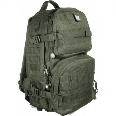 Sac à Dos Elite 20L - en Tissu Ripstop - Kaki Vert Armée - CityGuard