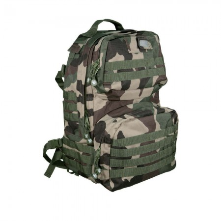 Sac à Dos Elite 40L - en Tissu Ripstop - Camouflage CE - CityGuard