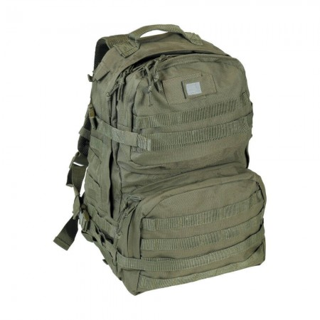 Sac à Dos Elite 40L - en Tissu Ripstop - Kaki Vert Armée - CityGuard
