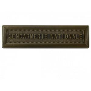 Agrafe Gendarmerie Nationale pour médaille pendante