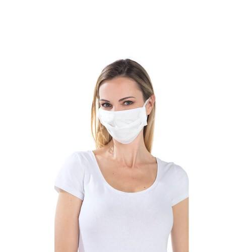 Masque Lavable en Tissu - Attaches Élastiques - Catégorie 2 - Rémi Confection