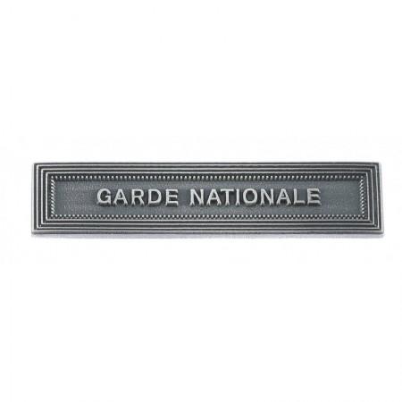 Agrafe Garde Nationale pour Médaille Pendante MRVDSI