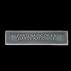 Agrafe Partenaire de la Garde Nationale pour Médaille Pendante MRVDSI