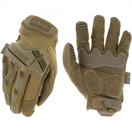 Gants d'Intervention Coqués Respirants M-Pact Tan - Mechanix