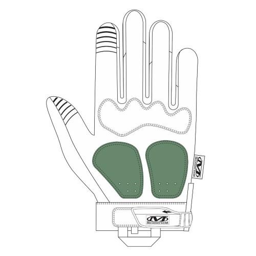 Gants d'Intervention Coqués Respirants M-Pact Noir - Mechanix