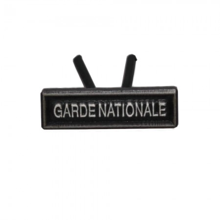 Agrafe Garde Nationale MRV-DSI Réduction et Dixmude