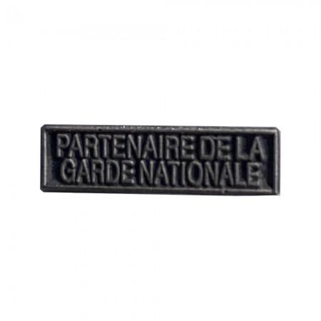 Agrafe Partenaire de la Garde Nationale  pour médaille Réduction et Dixmude MRVDSI