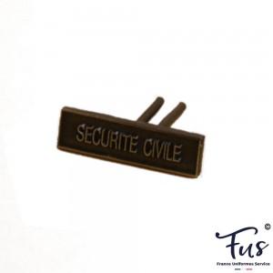 Agrafe Sécurité Civile pour Médaille Réduction et Dixmude