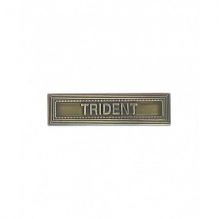 Agrafe Trident pour Médaille Pendante