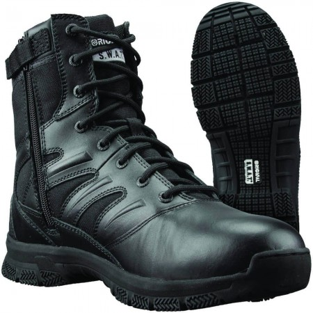 "Chaussures Rangers Force 8"" Side-Zip - Original SWAT"