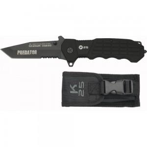 Couteau de Poche PREDATOR - Pliant Tactique - avec Étui - K25 19099