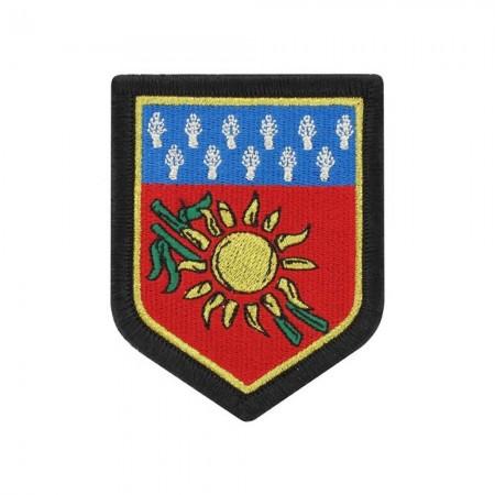 Écusson de Bras Gendarmerie de Légion Brodé - Commandement Gendarmerie Guadeloupe