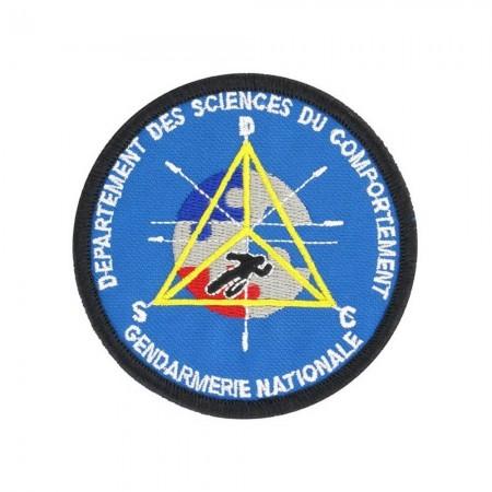 Écusson de Bras Gendarmerie de Légion Brodé - Département des Sciences Du Comportements