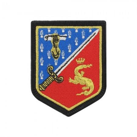 Écusson de Bras Gendarmerie de Légion Brodé - École de Gendarmerie Fontainebleau