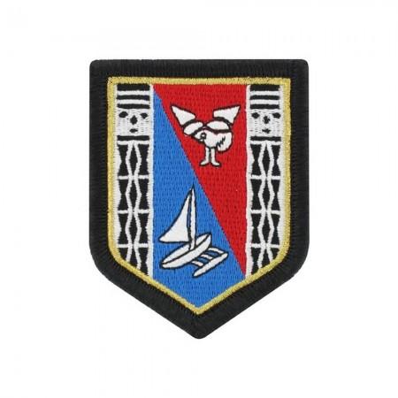 Écusson de Bras Gendarmerie de Légion Brodé - Nouvelle Calédonie et les Îles Wallis et Futuna