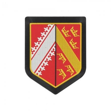 Écusson de Bras Gendarmerie de Légion Plastique - Alsace
