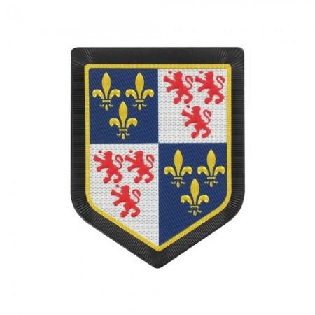 Écusson de Bras Gendarmerie de Légion Plastique - Picardie