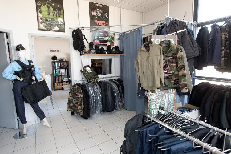 Magasin d'uniformes et vetements de sécurité
